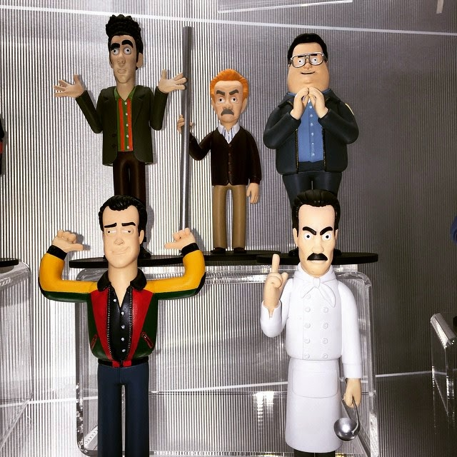 Toy Fair 2015 1st Look Seinfeld Television Vinyl Idolz Vinyl Figures by Vinyl Sugar x A Large Evil Corporation