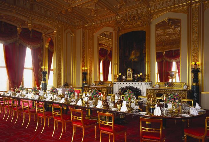 Windsor Castle Dining Room  Design Gallery