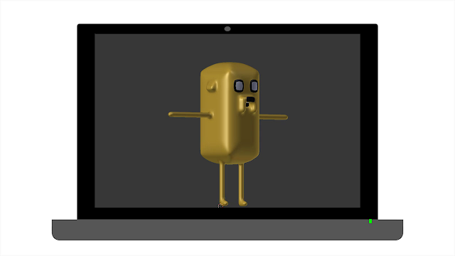 3D Jake Adventure Time
