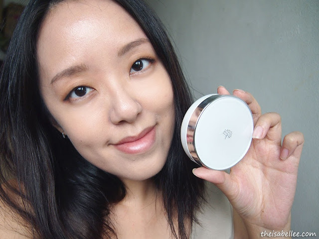 The Face Shop Oil Control Water Cushion beauty blog review