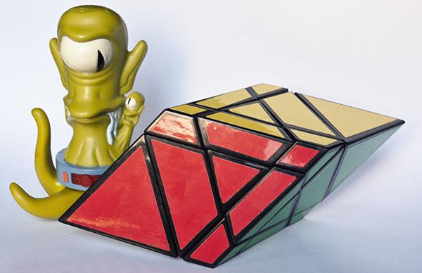 3x3x3 Rhombohedron rubik Rombohedro Alien Simpson  Blade cube