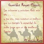 DE PRINCESAS A REYES: CARTA A LOS REYES MAGOS