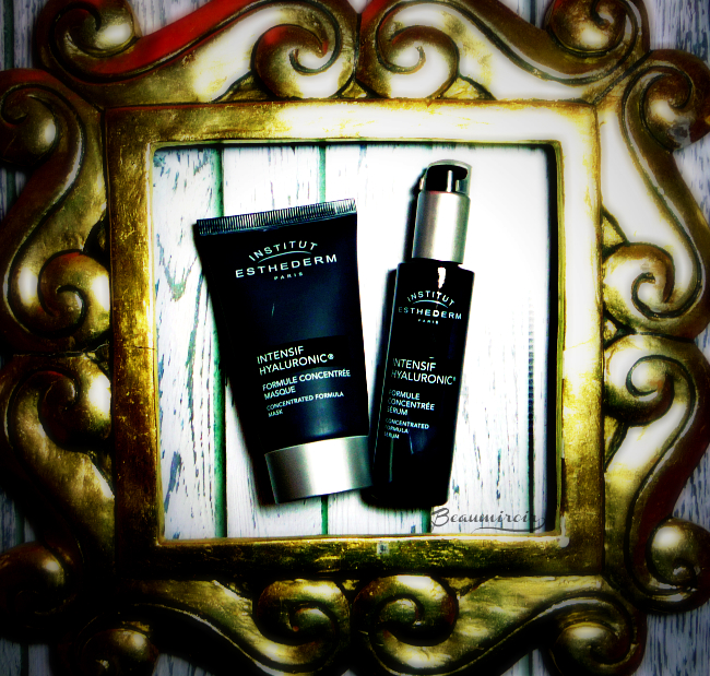 Winter skin saviors: Institut Esthederm Intensif Hyaluronic Line - The Mask and the Serum