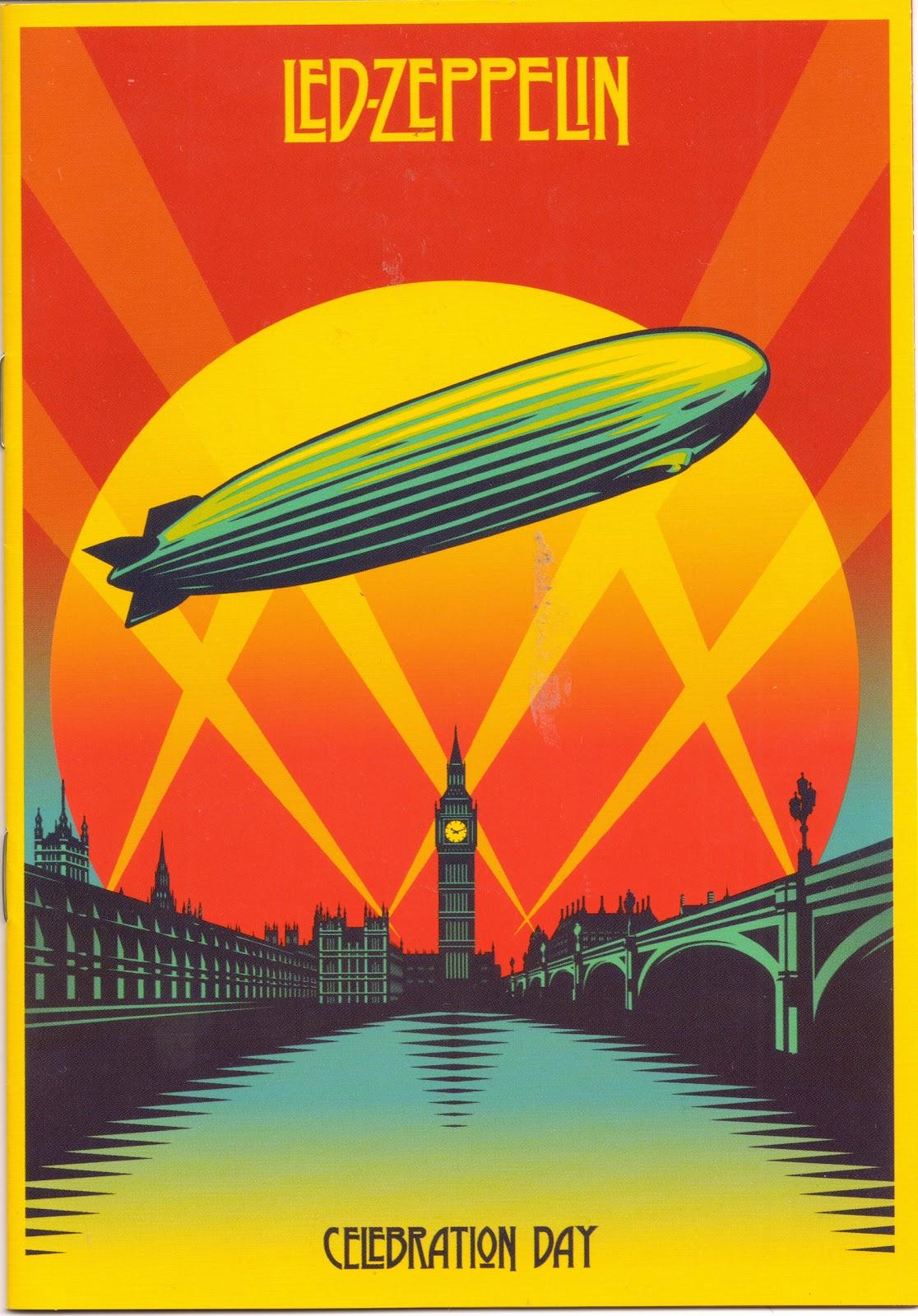Led Zeppelin regroups for one last 'Celebration Day'