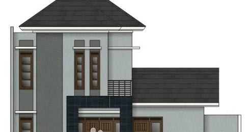 rumahku 1 denah rumah sederhana rumah type 85