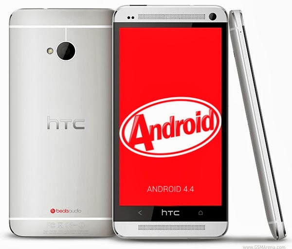 HTC One in France gets the Android 4.4 KitKat update