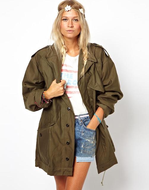 khaki camo jacket