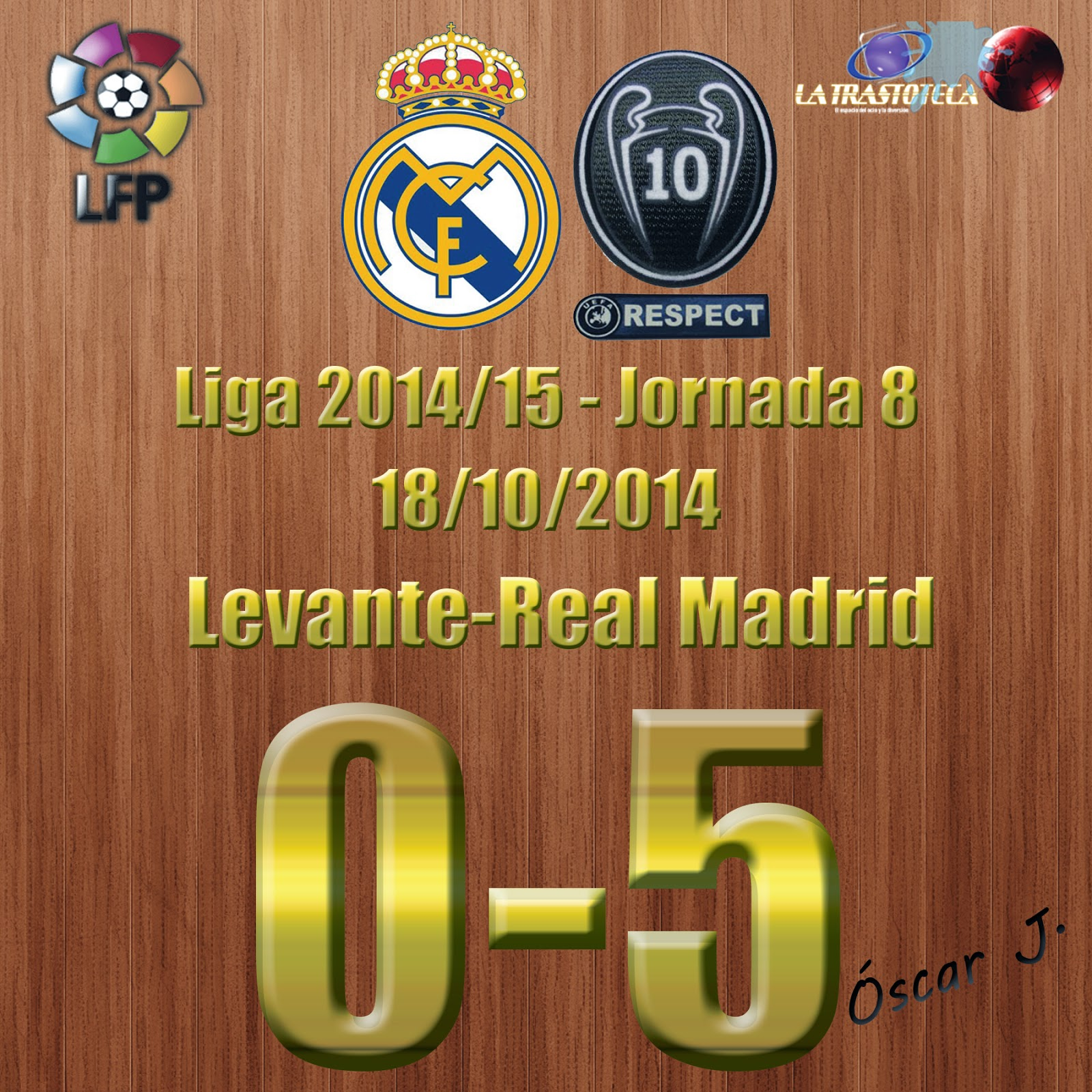 Cristiano Ronaldo - Nuevo Récord Histórico - Mejor Arranque Goleador - Levante 0-5 Real Madrid - Liga 2014/15 - (18/10/2014)