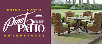 Enter the J. Lohr Pinot on the Patio Sweepstakes. Ends 6/21/15