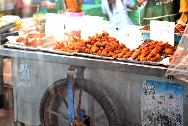 Krabi townin yömarkkinat
