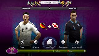 Screen Shot Patch PES EURO 2012