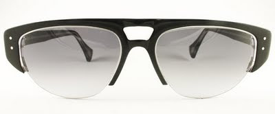 Rock Optika eyewear collection: Brighton sunglasses in black