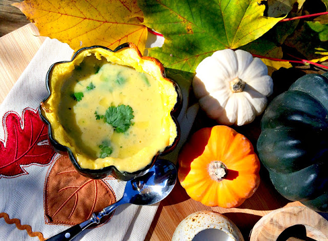 Pure Bliss- Thai Acorn Soup Recipe-Treasure Hunt Thursday- From My Front Porch To Yours
