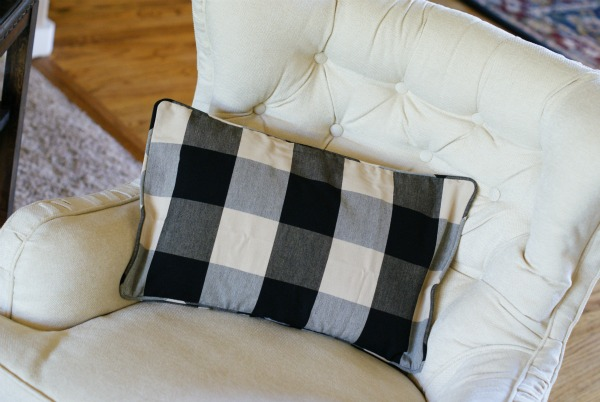 2 Pairs Of New Pillow Covers Need To Find The Right Size Feather Inserts For Black Check Set I Think Green Stripe Was Originally Around 45 Each