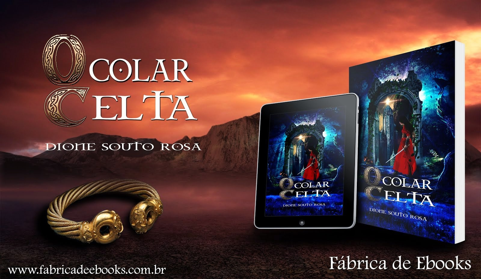 BOOK TRAILER O COLAR CELTA