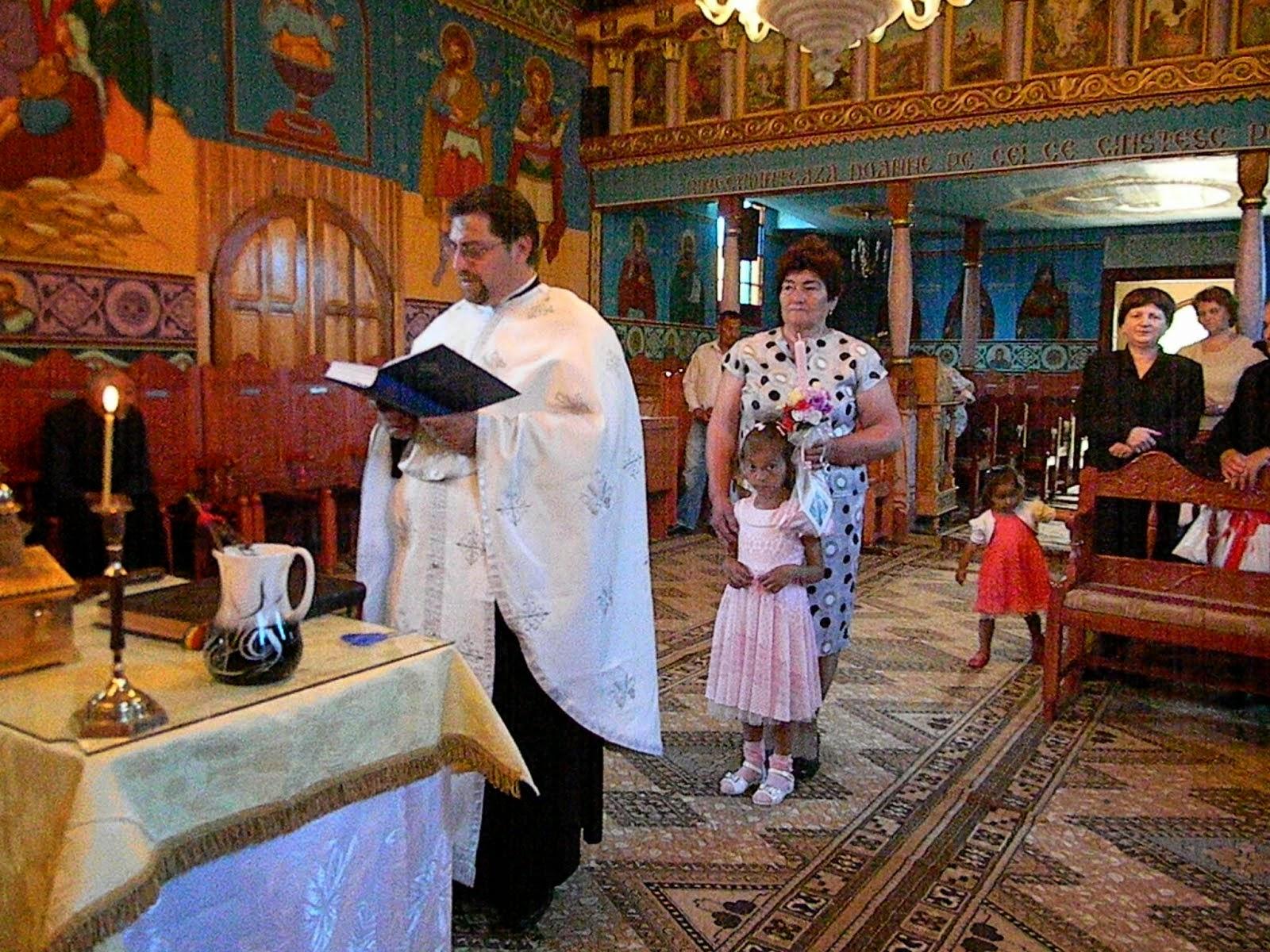 Botezul fetiţei Dobrin Ana Maria Rebeca