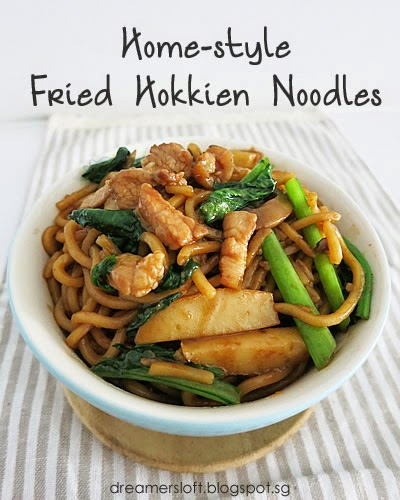 how to cook fried hokkien noodles