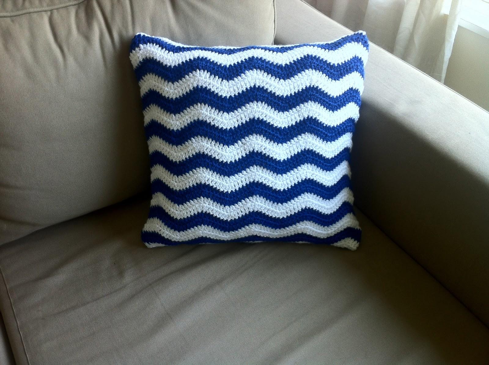 Nautical Cushion Knitting Pattern : The Way I Crochet: Nautical Cushion Covers