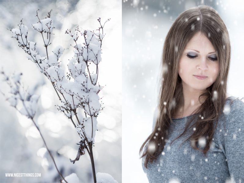 Wintershooting Shooting im Schnee