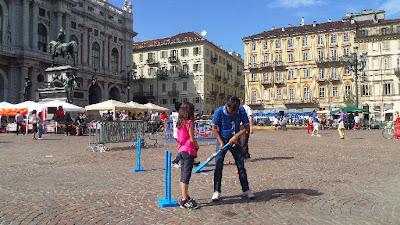Kwik Cricket - Torino - Piazza Carlo Alberto