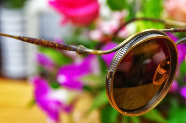 MATSUDA vintage round sunglasses