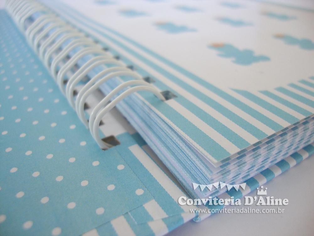 caderno de recados maternidade