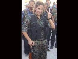 """Kobané : """"Nous luttons pour toute l'humanité"""", par Narin Afrin"""