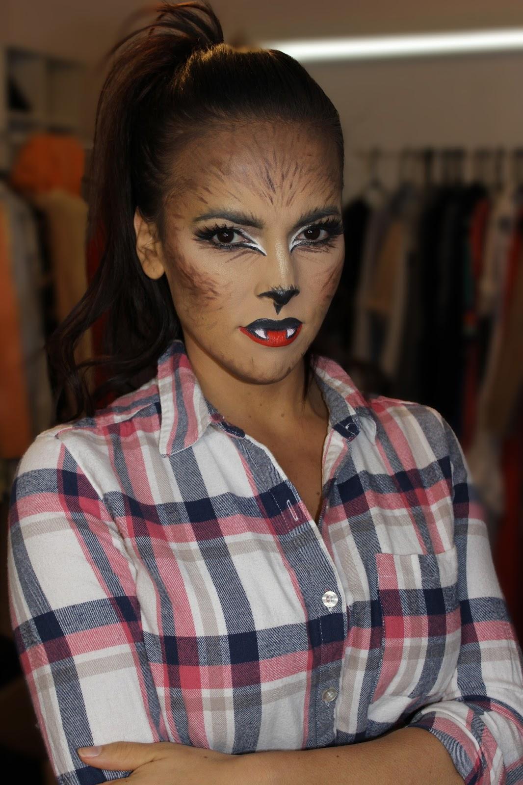 SARAH U0026 ELIZABETH  Werewolf Halloween Makeup