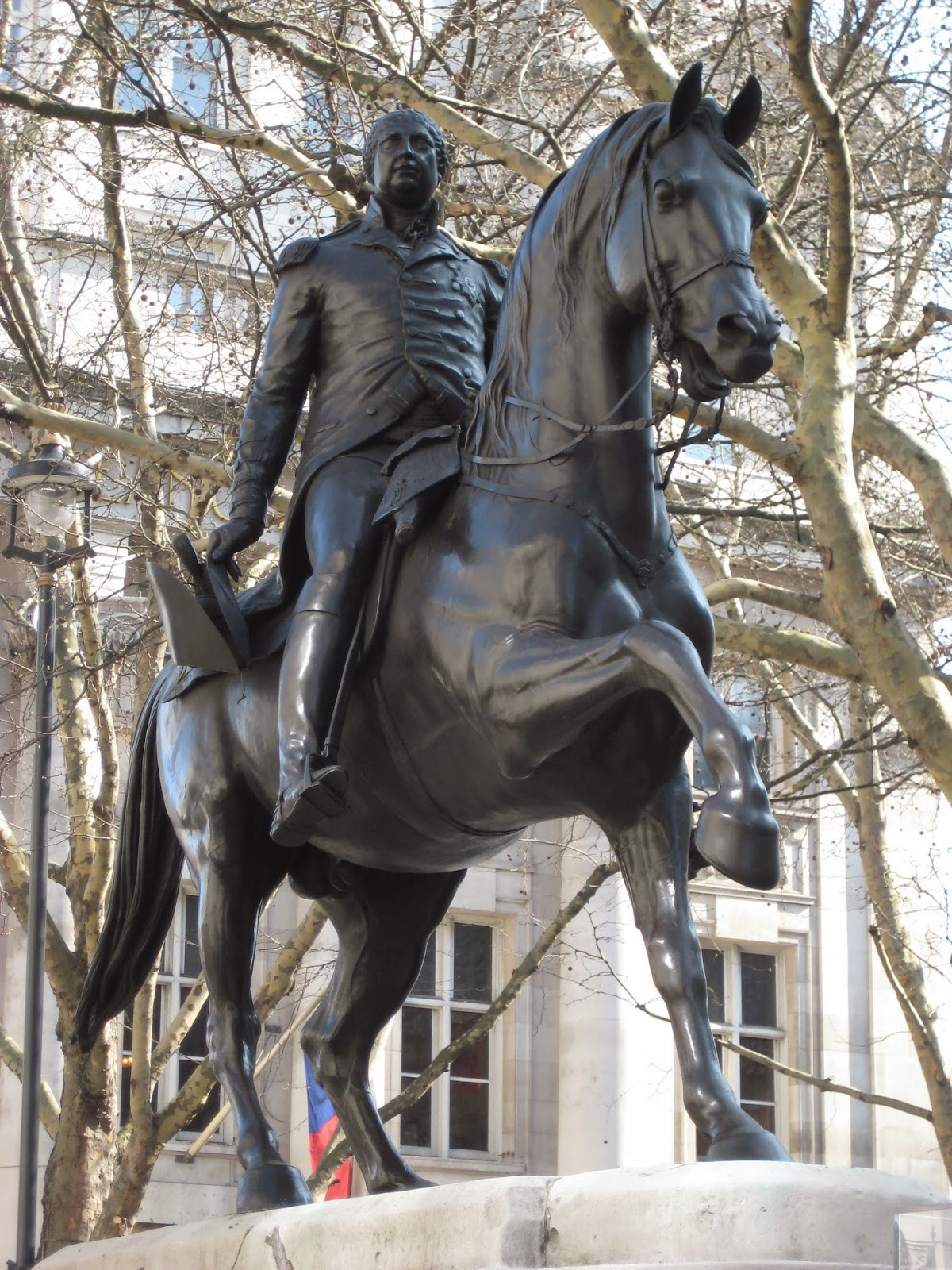 Statue of George III on horseback, Cockspur Street, London