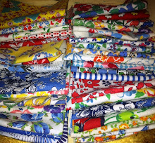 Vintage feedsack fabric for sale