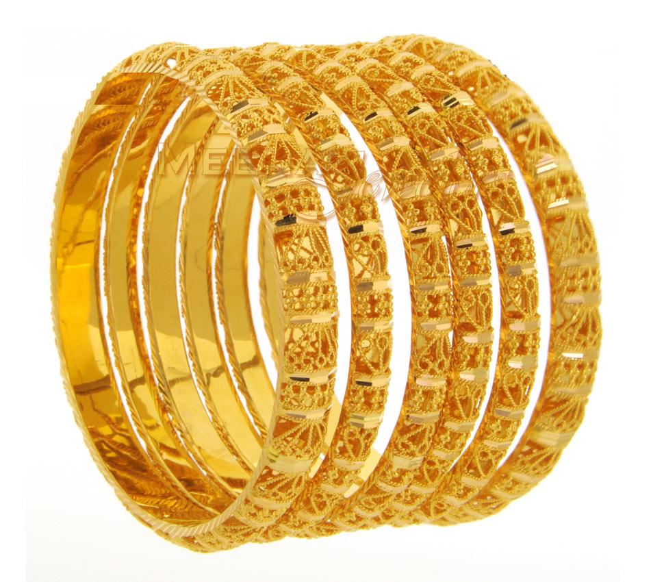 Imitation jewellery world imitation bangles design for Simple gold ornaments