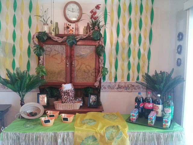 Party backdrop on a Budget