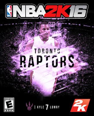 NBA 2K16 Custom Covers - Toronto Raptors