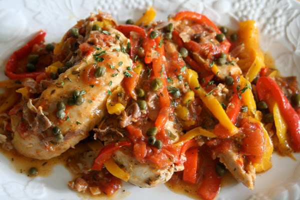 Roman Style Chicken recipe from Giada de Laurentiis