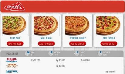pizza aan huis