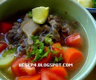 Resep Sayur Sop Daging Sederhana