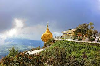 Pagoda Kyaiktiyo de Myanmar