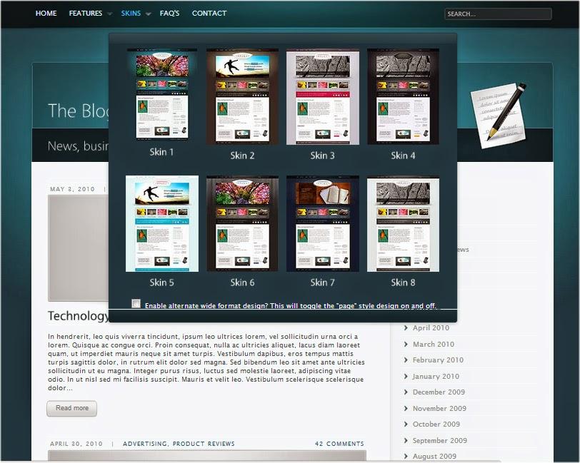 Ebay Store Wordpress WP Theme Premium Professional Website - Premium ebay templates