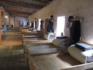 1800s infantry barracks