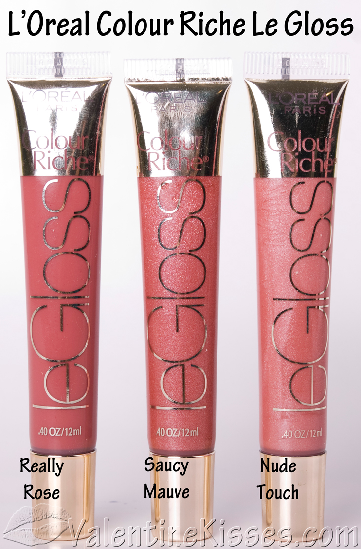 now lets see each shade individually loreal colour riche le gloss - L Oral Gloss Color