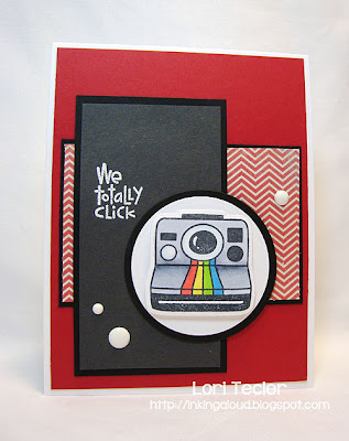 We Totally Click-designed by Lori Tecler-Inking Aloud-stamps and dies from Paper Smooches