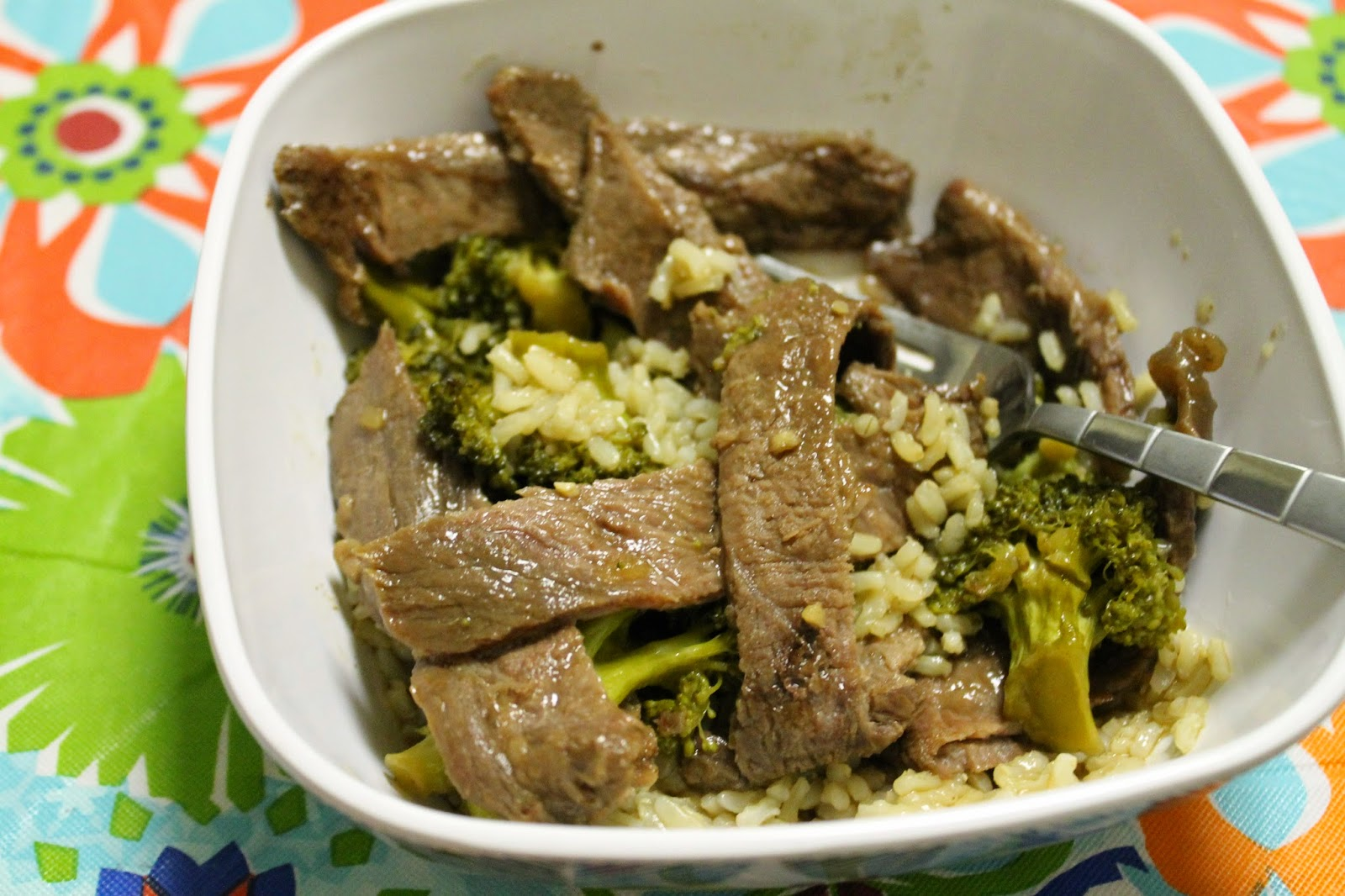 Slow Cooker Beef & Broccoli | An easy but fantastic crockpot meal #recipe #crockpot #beef