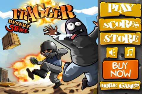 Fragger Desert Strike Free App Game By MiniClip