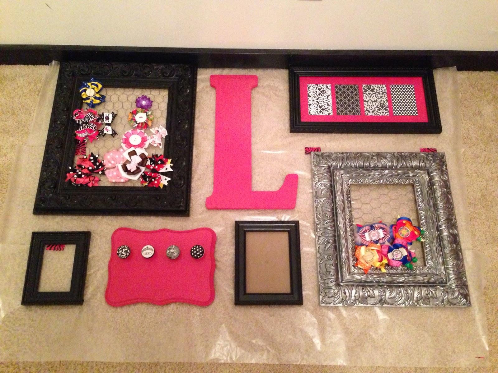 Like Mom Made Lorelei S Nursery Makeover Diy Easy Frame