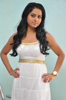 Rachana Mourya Spicy in White Dress Pics