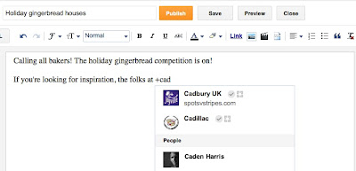 Mention Orang Di Postingan Blogmu Dengan Google+