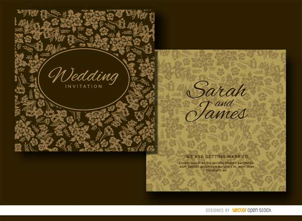 brown-wedding-invites
