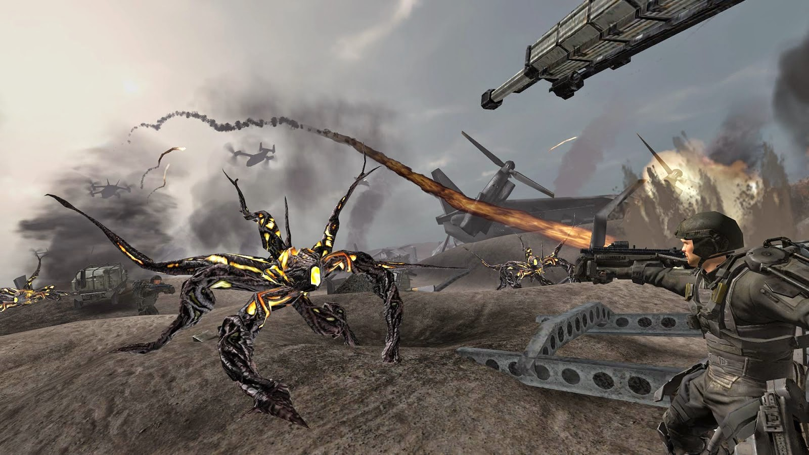 Edge of Tomorrow Game v1.0.0 [Unlock All Character & Unlimited Ammo] APK+DATA