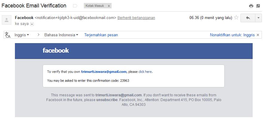 Cara Memberikan Security Berlapis Facebook 5