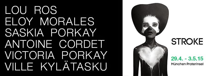Galerie flash; stroke art fair, Lou Ros; Porkay, Cordet